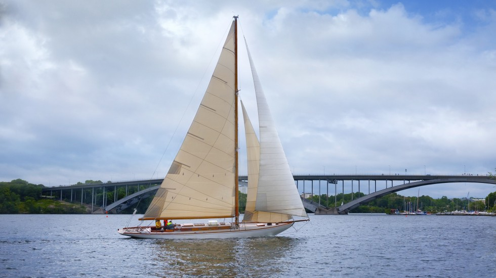 Sailing in Stockholm City
